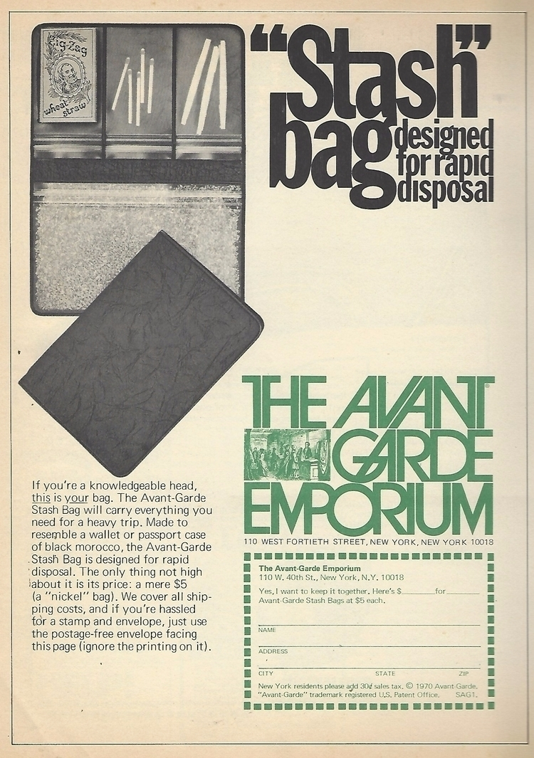 Avant Garde Magazine 11 printed - ellocannabis | ello
