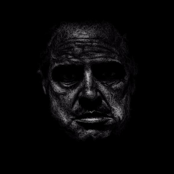 Vito Corleone. Scribble series - goragorskiy | ello