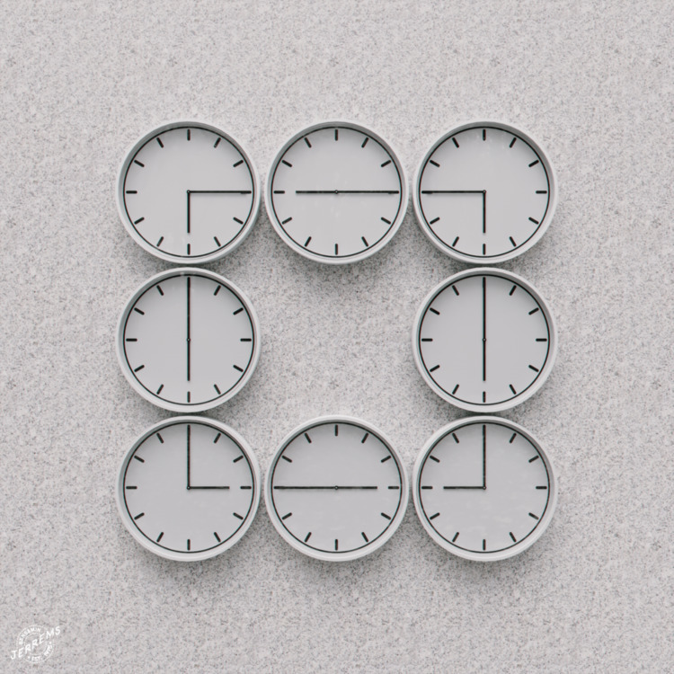 'Clocks'  - coronarender, cinema4d - bengaminjerrems | ello
