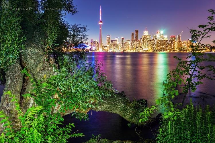 City skyline Toronto Island Par - hsphotos | ello