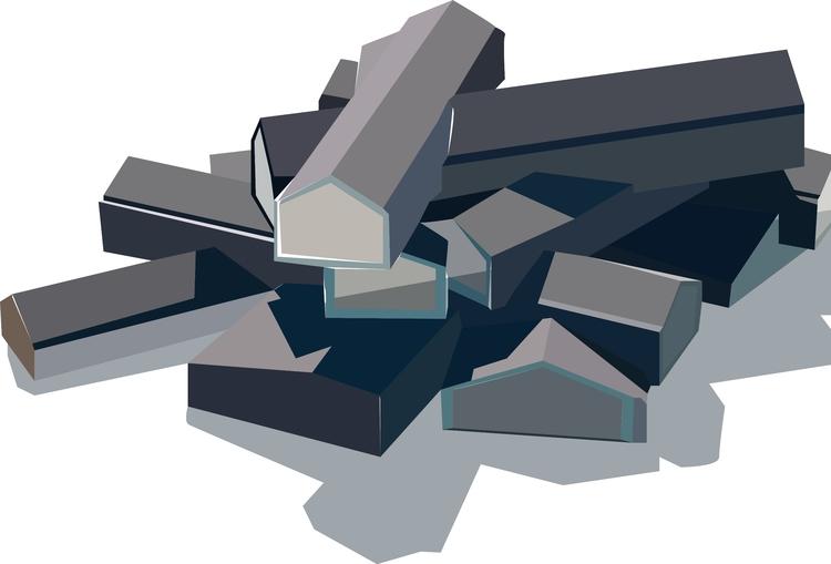 Vitra House Herzog de Meuron - illustration - sophieillustration | ello
