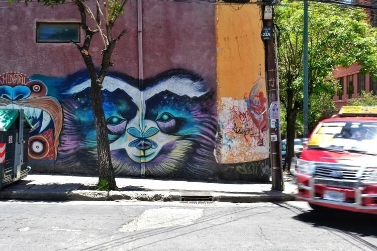 Mehr Streetart La Paz - weltfarben | ello