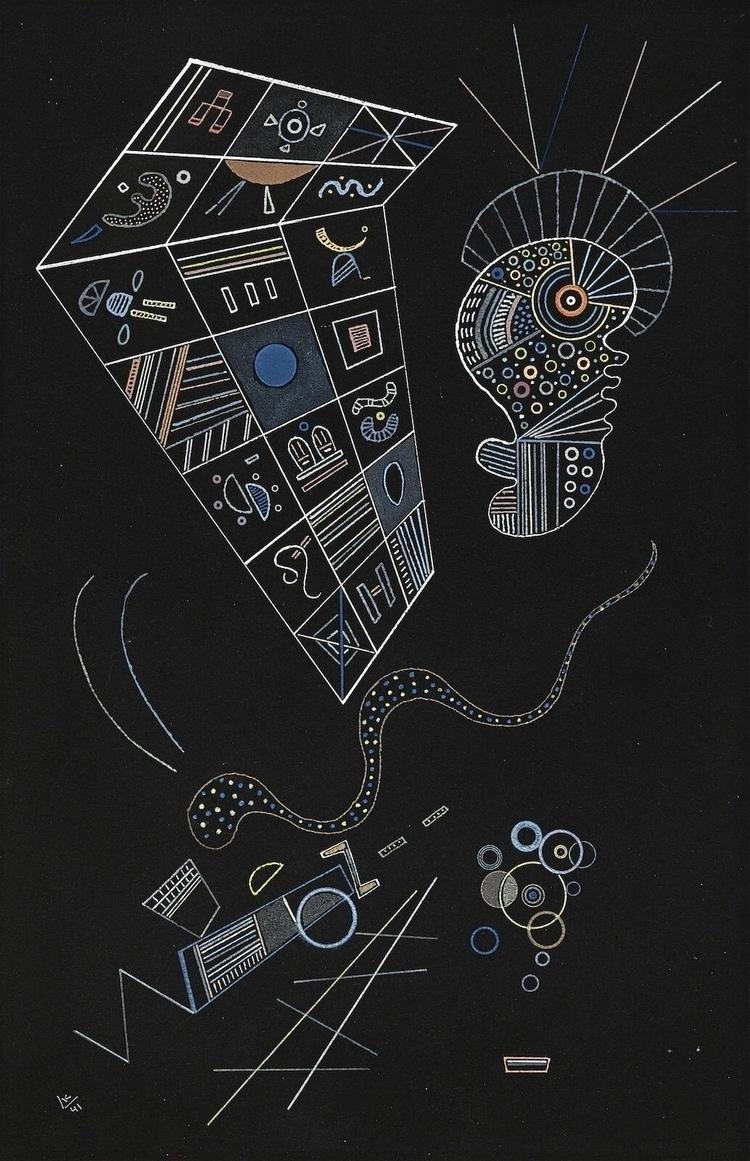 Master abstract Wassily 1941, U - bauhaus-movement | ello
