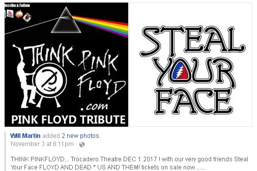 DEC 1--Trocadero Theatre 1 2017 - thinkpinkfloyd | ello