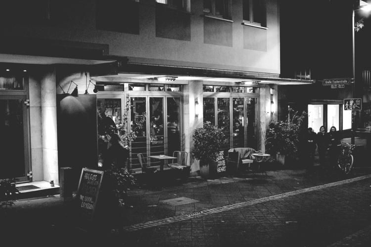front restaurant - blackandwhitephotography - borisholtz | ello
