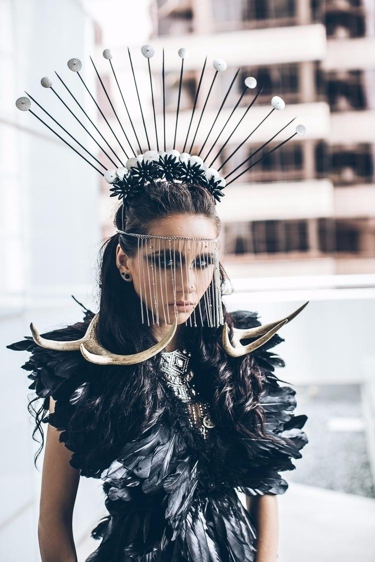 "Monarch"" — Photographer: Nova G - darkbeautymag | ello"