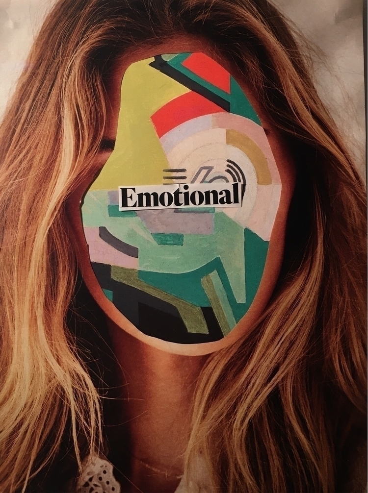 Collages comprised portraits wo - aoifedillon | ello