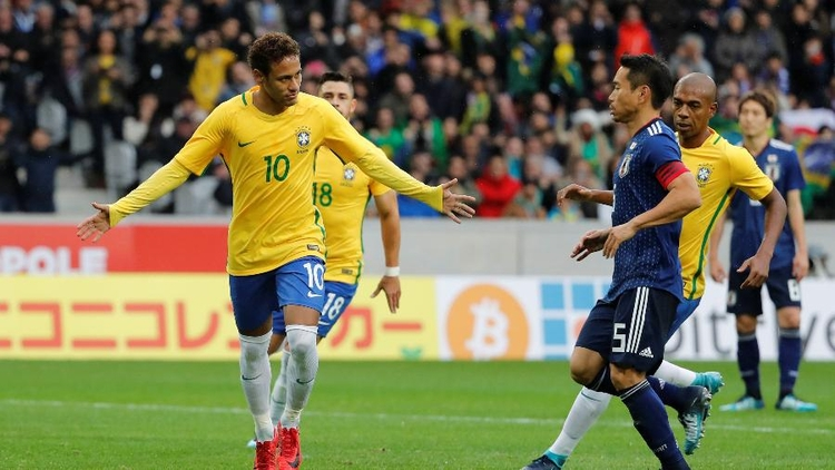 Japão 1 3 Brasil - amistoso2017 - feliphe | ello