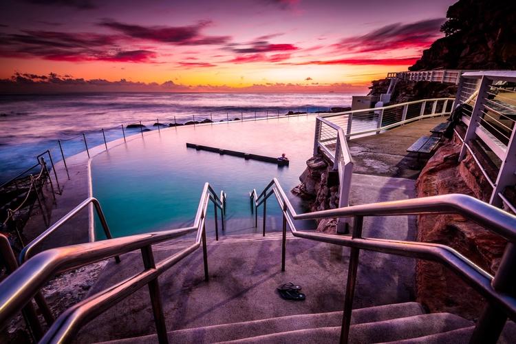 Bronte Pool sunrise, Sydney - N - keithmcinnes | ello