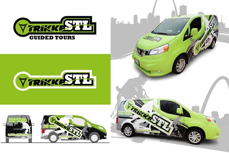 Final TrikkeSTL branding, logof - jamesowendesign | ello