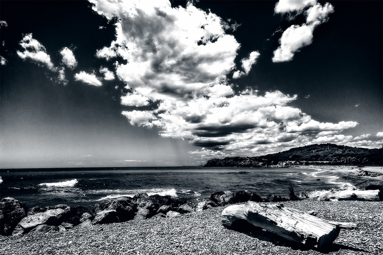 Sitges beach - Spain Platja de  - stephanepictures | ello