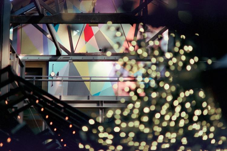 Geometric lightscape Hotel Ovol - dropshot | ello