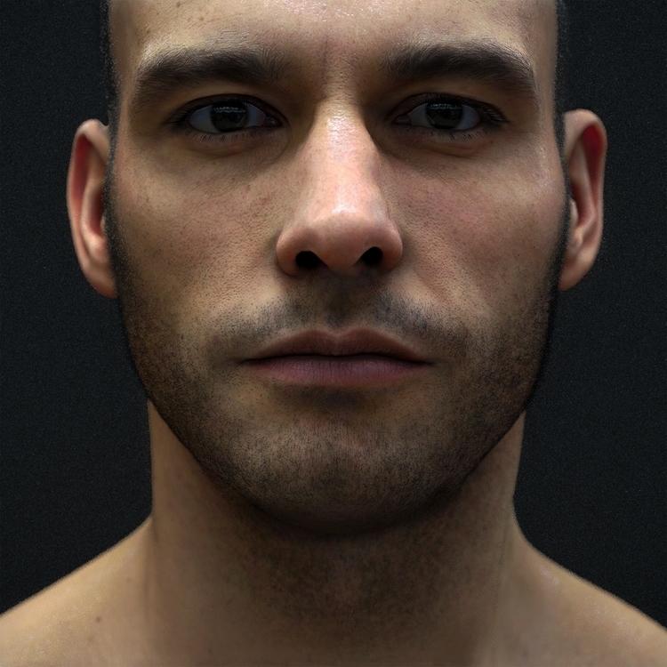 Digital Portrait - 3D, Art, render - z3rogravity | ello