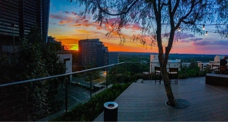 Sandton sunsets - sunset, canon - deankoonin | ello