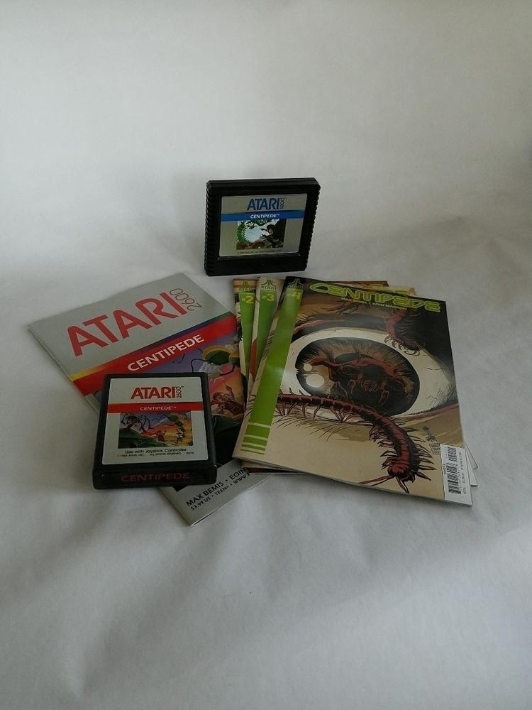 Centipede comic books Atari gam - 8bitcentral   ello