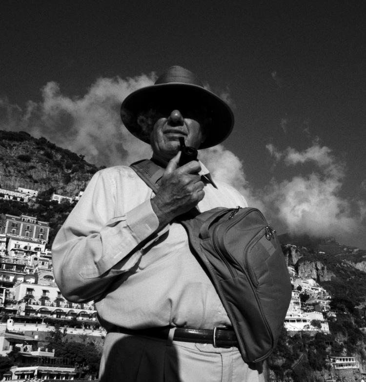 Stranger pipe Streets Positano - georgie_pauwels | ello