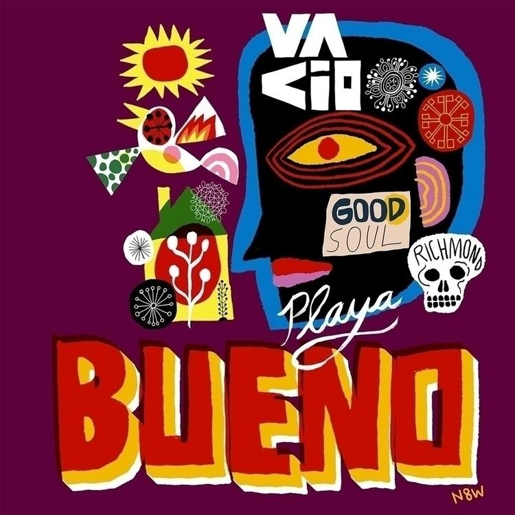 music, coffee, art - lettering, illustration - n8wn8w   ello