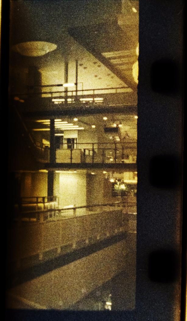 Berlin State Library. Fuji 500T - stikka | ello