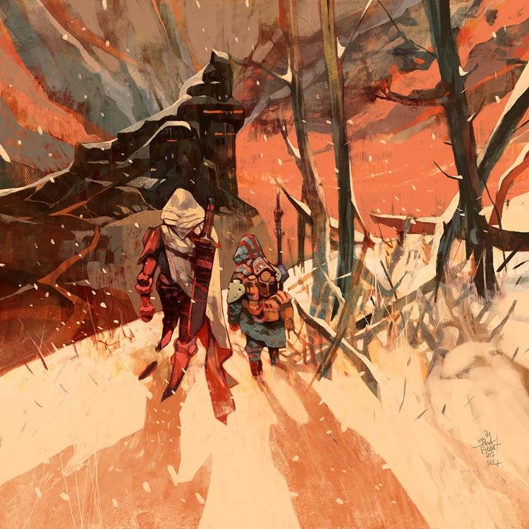 Sci-Fi Fantasy Merge Jakub Colo - scene360 | ello