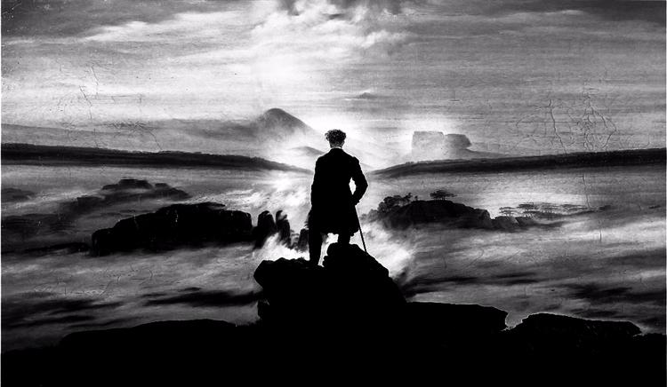 black white Caspar David master - ms_99999 | ello