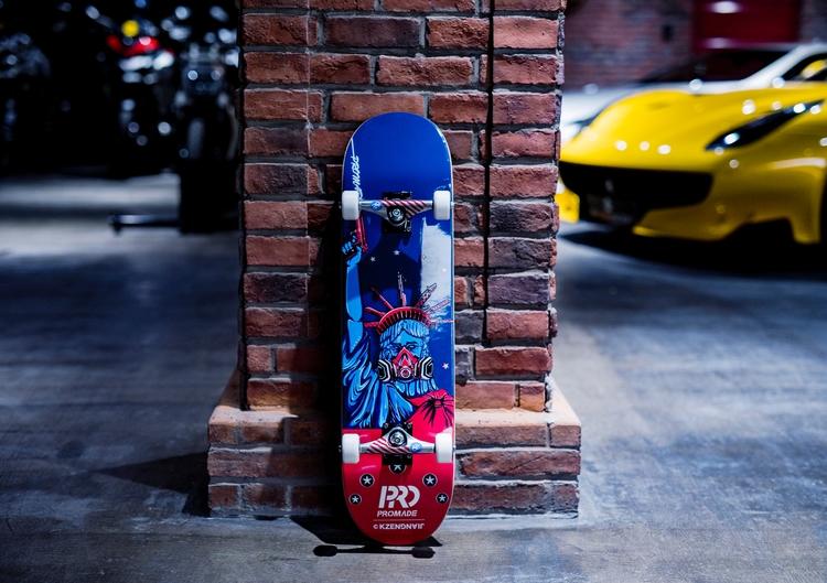 KZENG JIANG PROMADE Skateboard - kzengjiang | ello