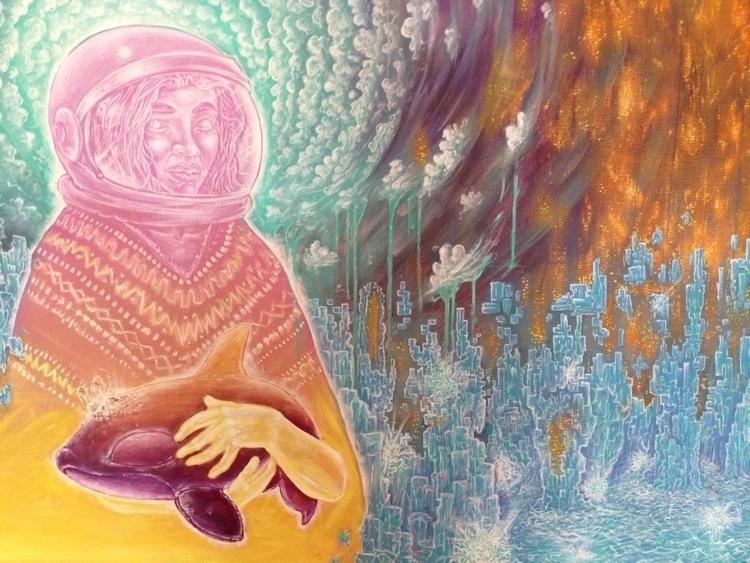 story Irma - art, painting, visionary - lookupcatnip | ello