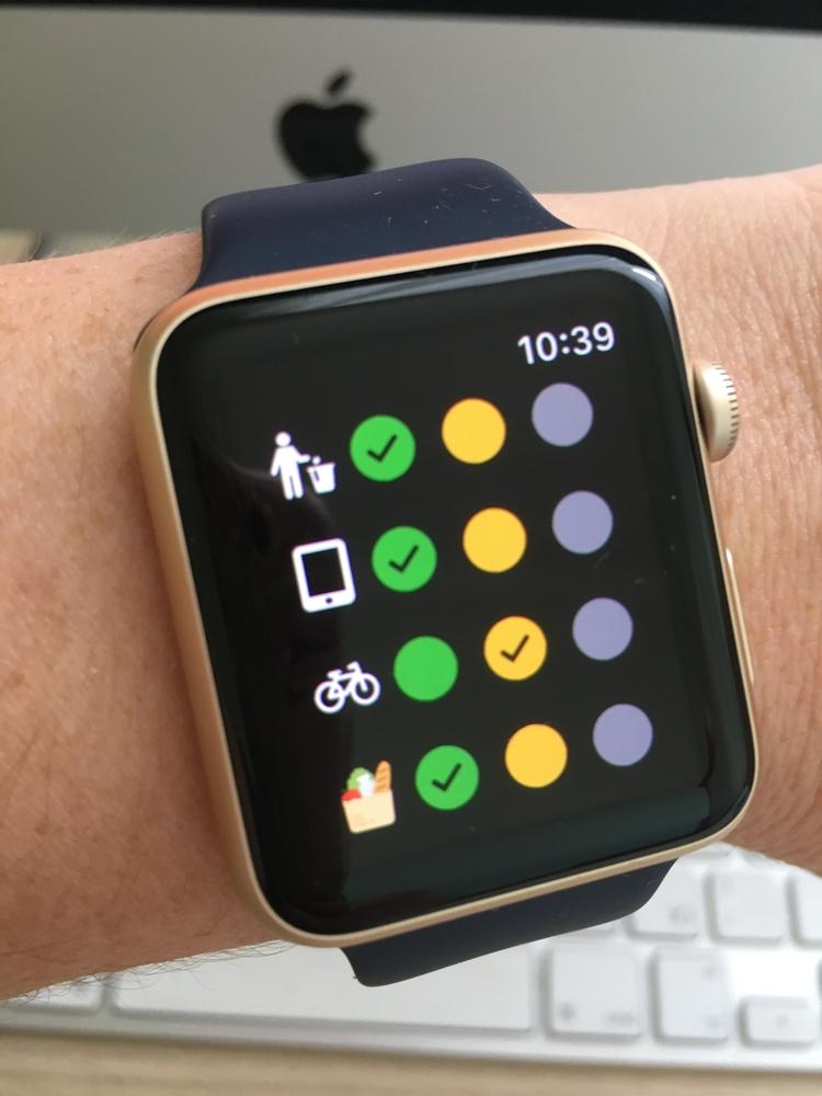 FREE app Eco-Tracker Apple Watc - oleka | ello