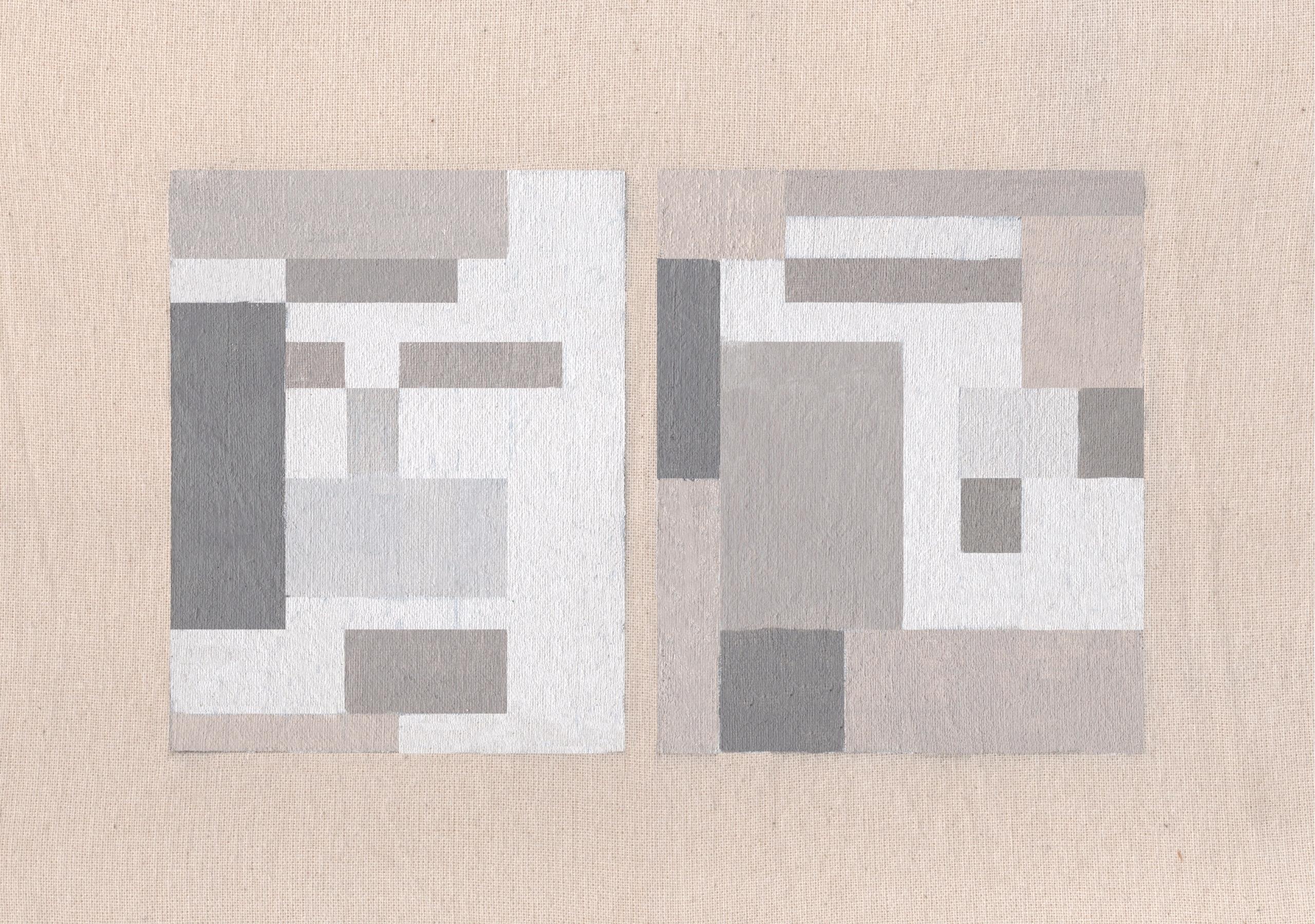 grey odyssey . acrylic organic  - barbara-c | ello