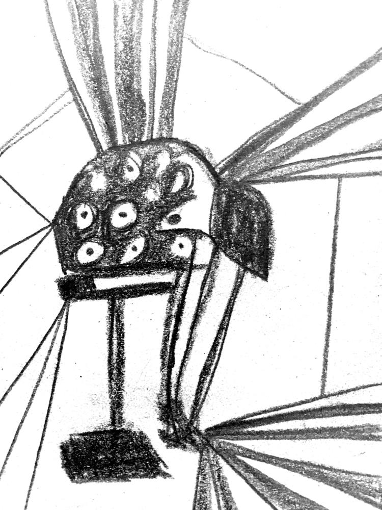sketch, art, crouqet, geometry - claraii | ello