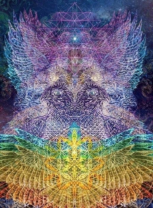Visionary Spirit Guides - Nok M - chitreesign | ello