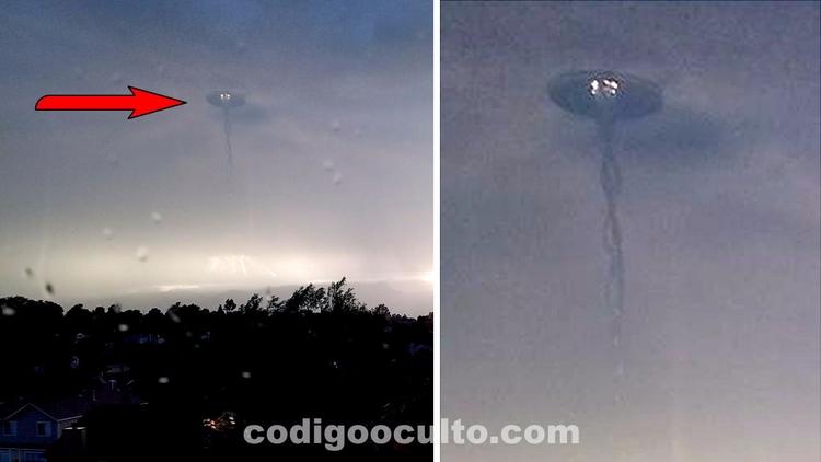 ¿Anomalía OVNI en cielo de EE.U - codigooculto | ello