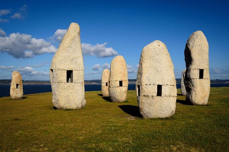 Stone men - stone, piedra, paisaje - santi_dieste | ello