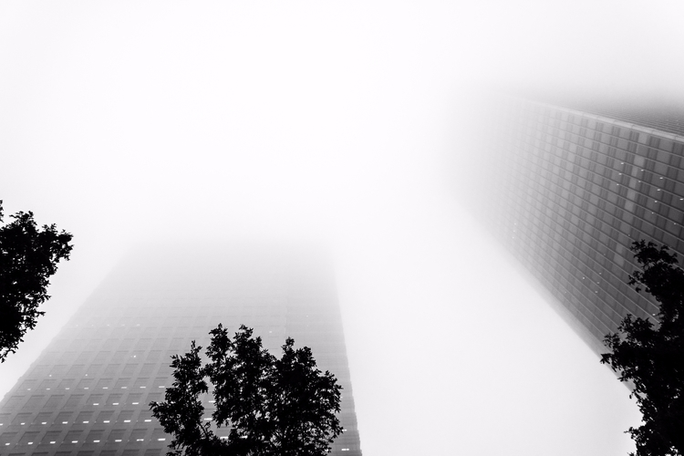 | Canary Wharf - London, fog - fabianodu | ello