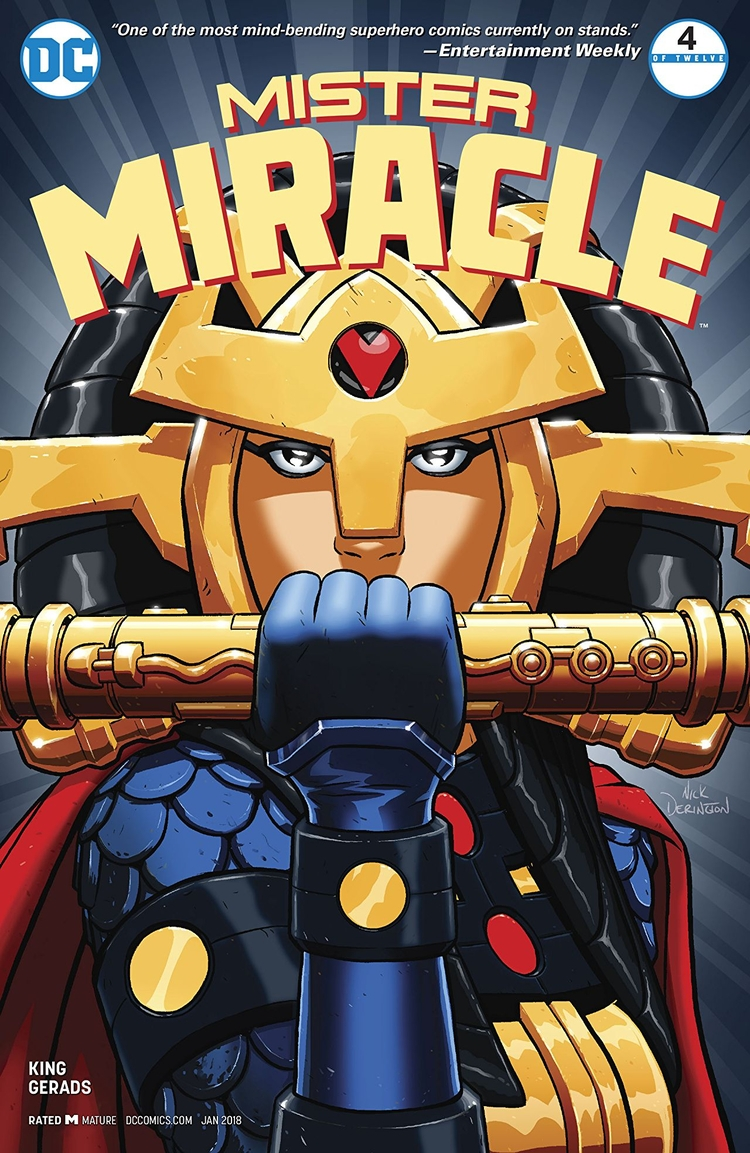 Mister Miracle DC Comics 2017 W - oosteven | ello