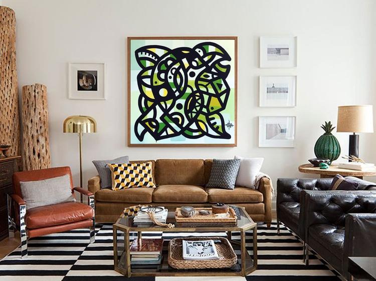 ottograph painting sofa nr11 - ottograph | ello