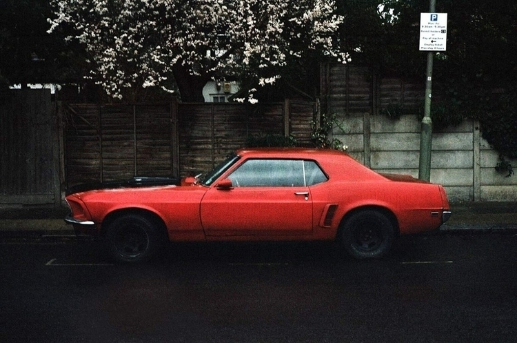 Red Mustang, check project Inst - ericoliveira | ello