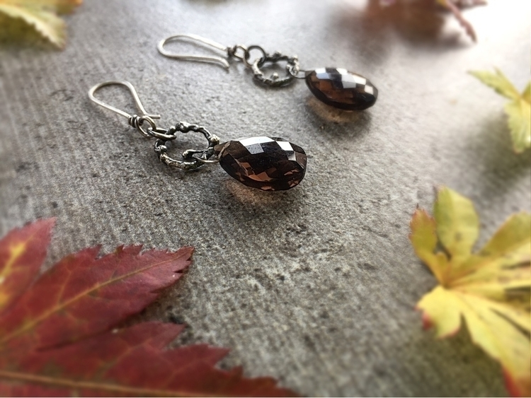 Woodland Earrings. Smoky quartz - empyreane | ello