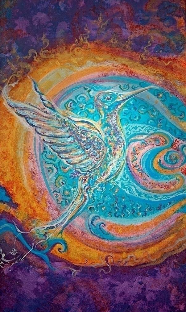 Rising - Shakti Spirit Garden C - chitreesign | ello