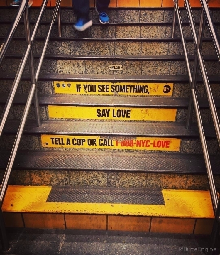 Love, NYC, NewYorkCity, Subway - byteengine | ello