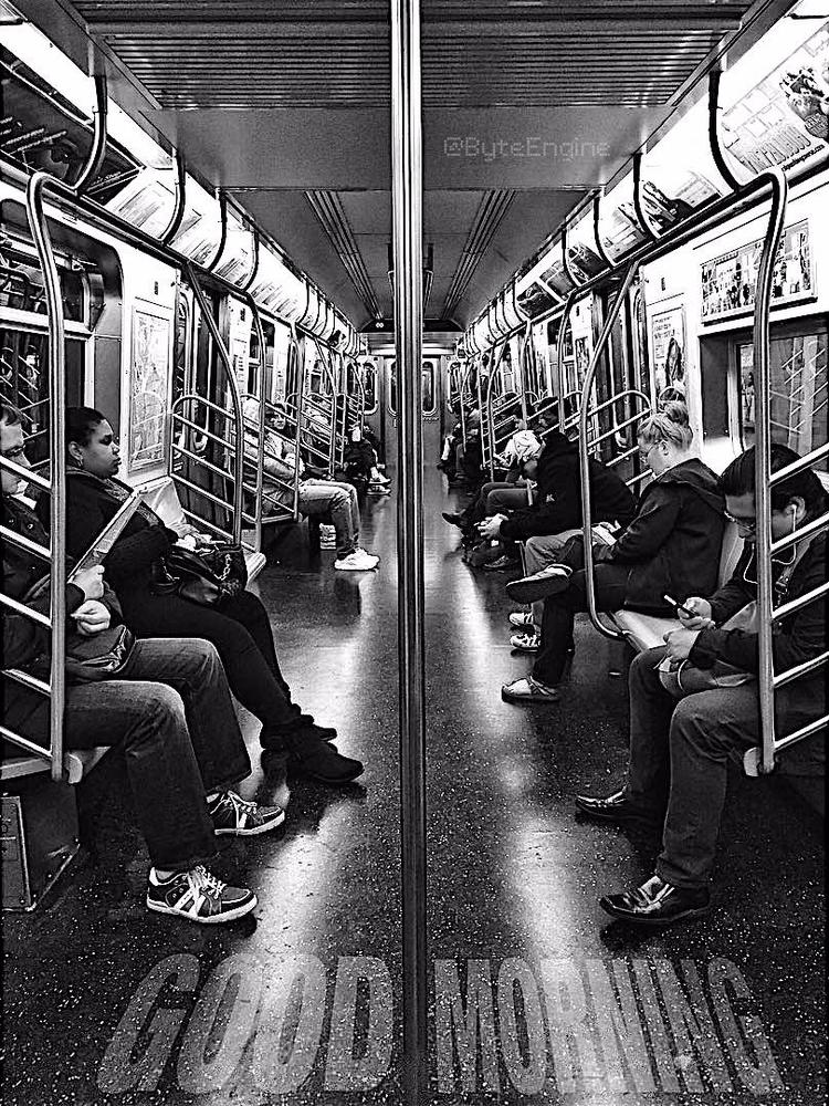GoodMorning, NYC, NewYorkCity - byteengine | ello