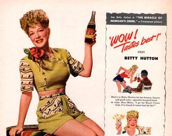 BETTY HUTTON  - VintageAd - robogiggles | ello