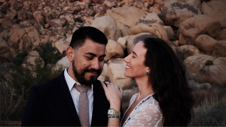 Engagement photos friends - joshuatree - sdotbailey | ello