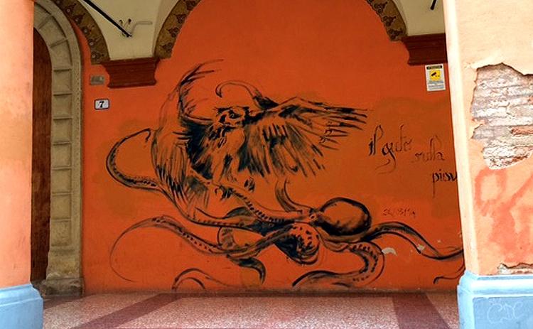 bolonga, italy, streetart - zenwheely | ello