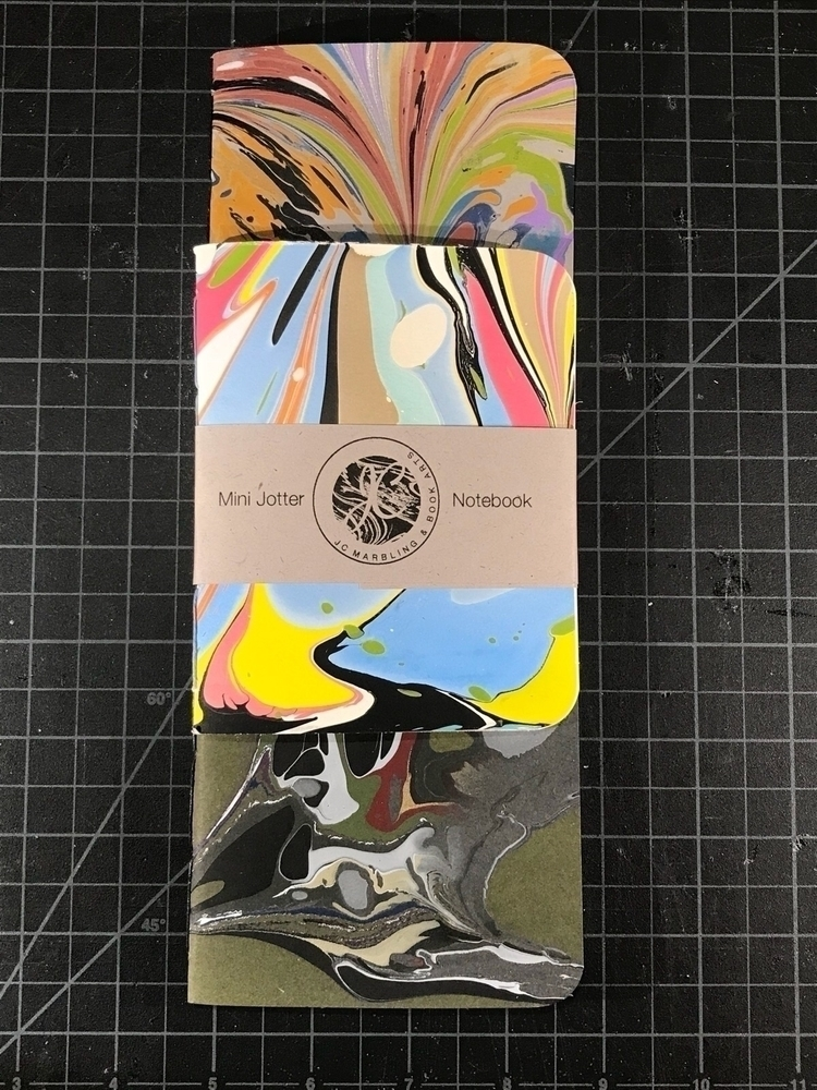 Holiday production: mini jotter - jcmarbling | ello