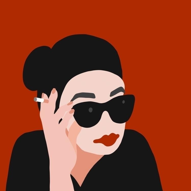 hommage fabulous Audrey Hepburn - andreaforgacs | ello