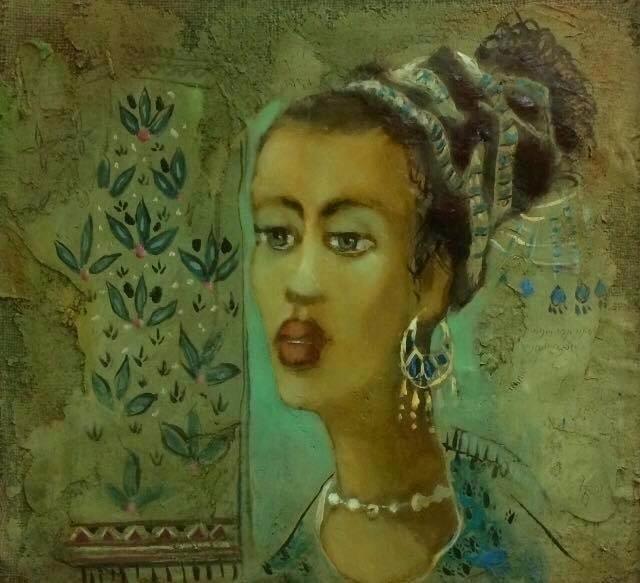 Cleopatra. Acrylic, Oil colors - giaruart61 | ello