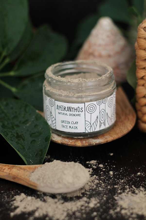 Green Clay great oily skin. wid - apeiranthos | ello