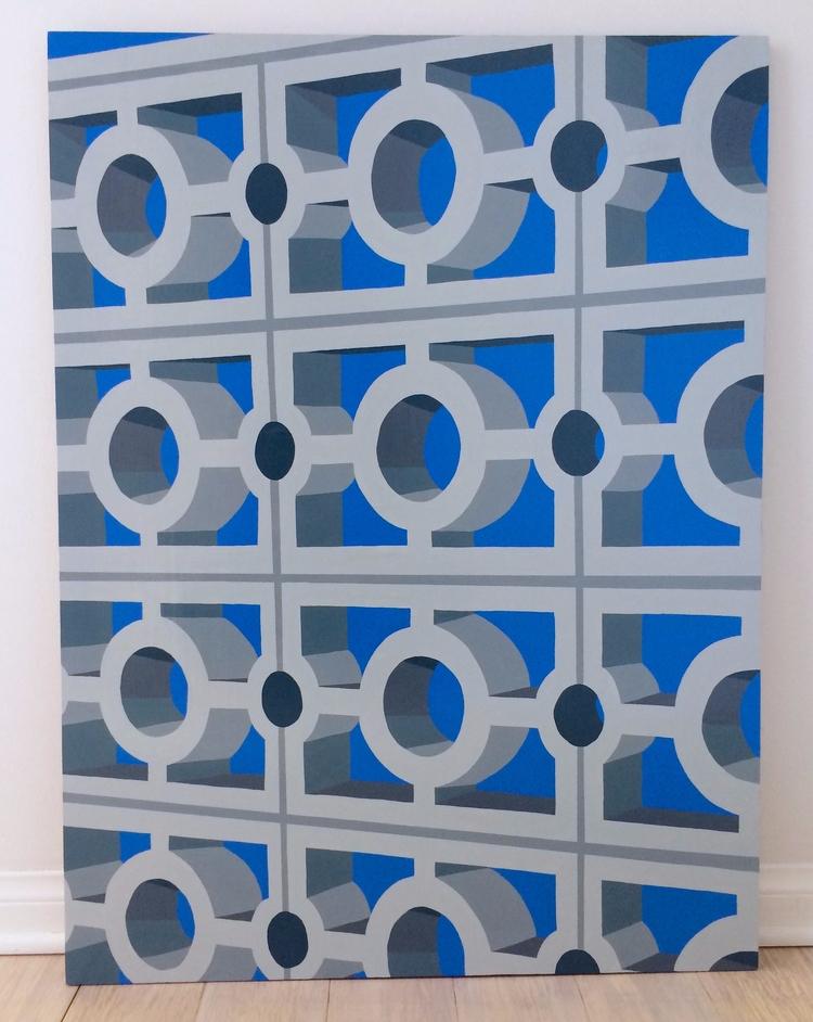 Breeze Block series - breezeblock - angela_oliver_art | ello