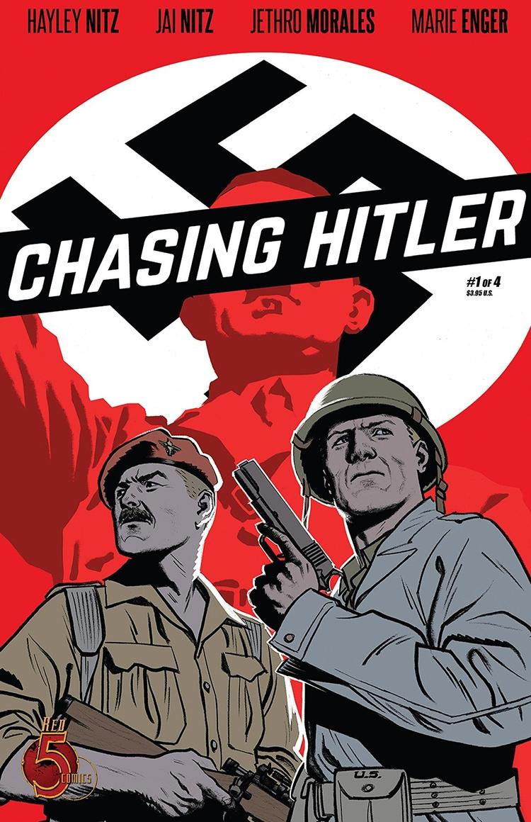 Chasing Hitler 4) Red 5 Comics  - oosteven | ello