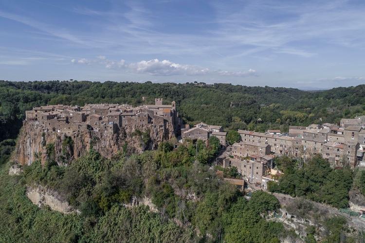 Italy - Calcata (VT) city cente - gogofly   ello